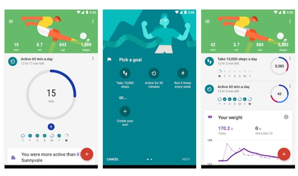 Google Fit – Aplicații Android pe Google Play