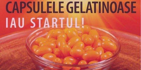 Capsule gelatinoase masticabile sunt preferintele noastre de top