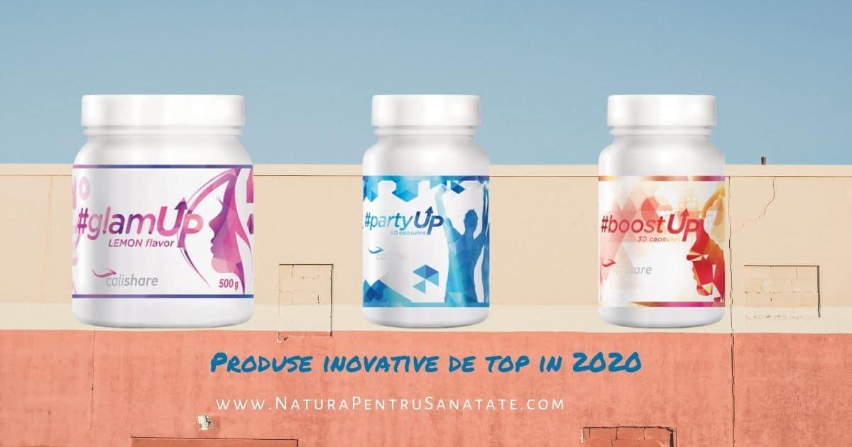 Inovarea de produs: top produse CaliVita 2020