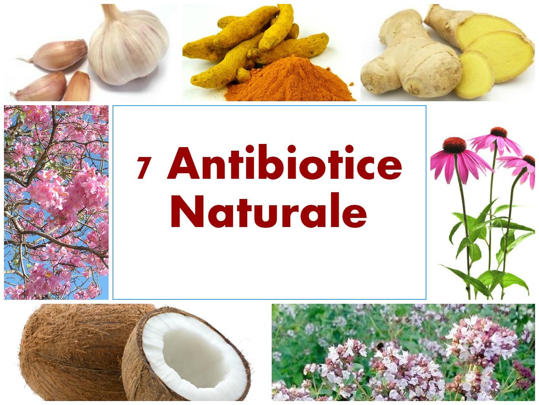 7 antibiotice naturale puternice, fără rețetă de la medic