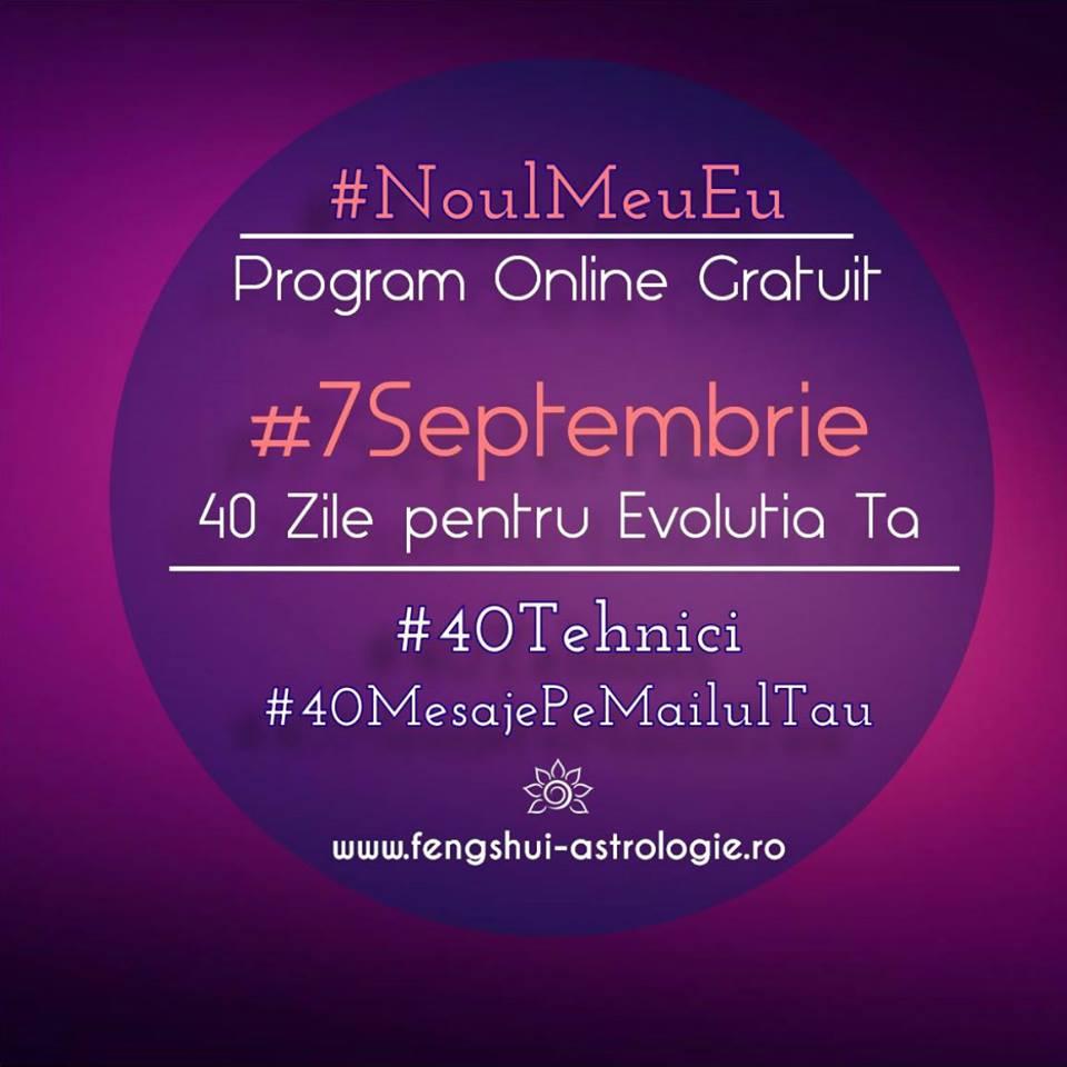 7 septembrie program 40 de zile noul meu eu - Noul Meu Eu: Programul Online Gratuit de 40 de Zile