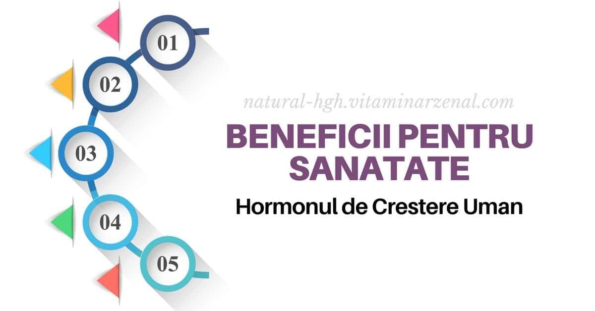 Beneficiile pentru Sanatate Hormonul de crestere uman HGH * Power Booster Calivita