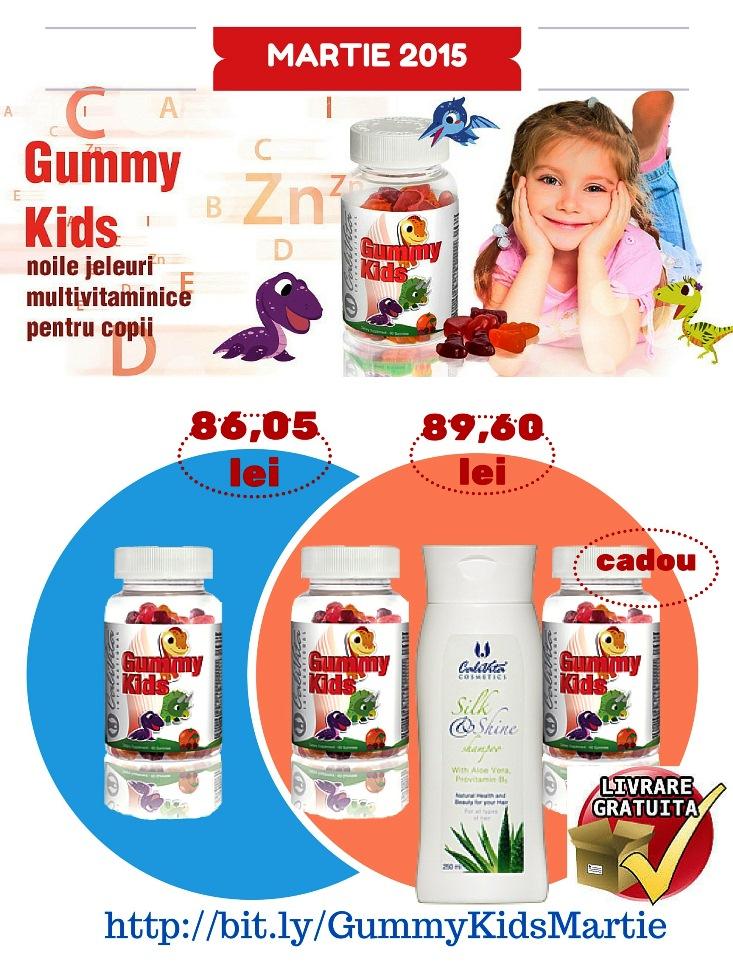 Profita la MAXIM de oferta 1+1 CADOU Gummy Kids