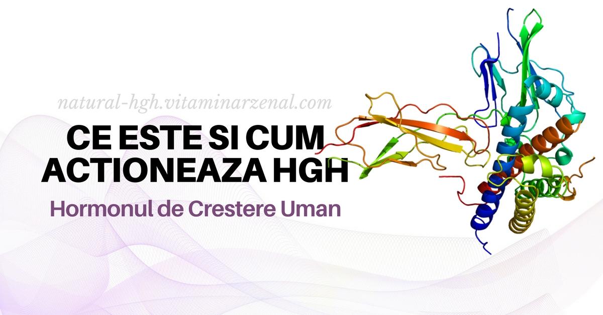 Ce este hormonul de creștere uman HGH și cum acționează?