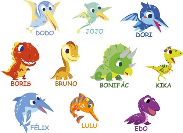 Dinozaurii Gummy Kids te ajuta sa descoperi o lume demult disparuta