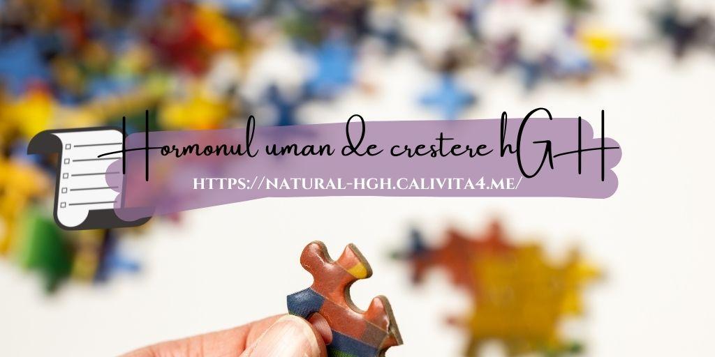 Hormoni de creștere de la Natura pentru Sănătate