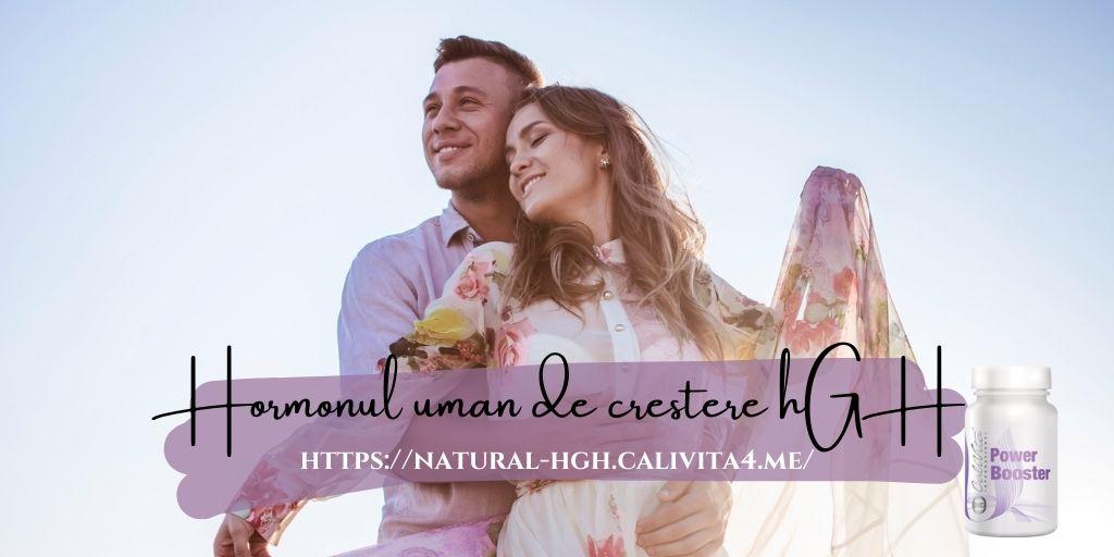 Natural HGH Support de la CaliVita pentru hormonul de creștere HGH